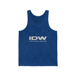 Unisex Jersey Tank - IDW Spelled Out
