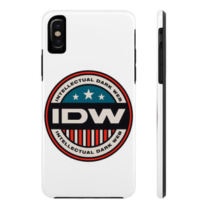 Case Mate Tough Phone Cases - IDW Badge - Color - Red Border