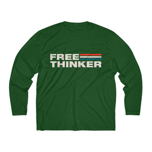 Men's Long Sleeve Moisture Absorbing Tee - Free Thinker