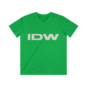 Men's Fitted V-Neck Short Sleeve Tee - IDW Abbreviated