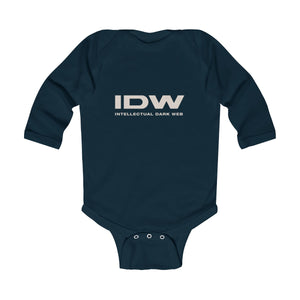 Infant Long Sleeve Bodysuit - IDW Spelled Out