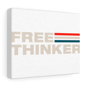 Canvas Gallery Wraps - Free Thinker