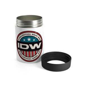 Can Holder - IDW Badge - Color - Red Border