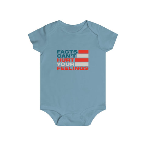 Intellectual Dark Web - Infant Rip Snap Tee - Facts Cant