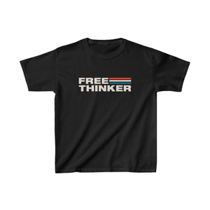 Kids Heavy Cotton™ Tee - Free Thinker