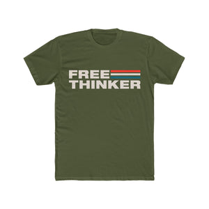 Men's Cotton Crew Tee - Free Thinker