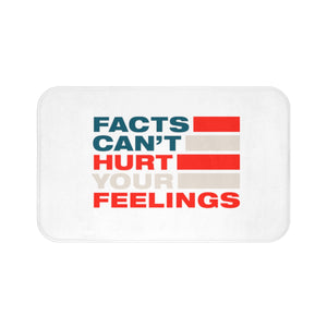 Bath Mat - Facts Cant Hurt Your Feelings