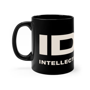 Black mug 11oz - IDW Spelled Out