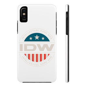 Case Mate Tough Phone Cases - IDW Badge - Color - White Border
