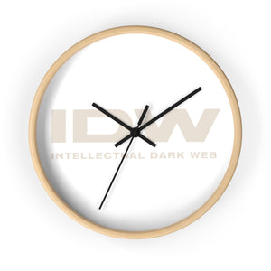 Wall Clock - IDW Spelled Out