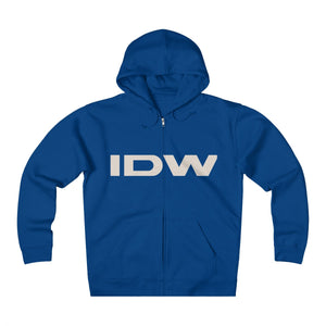 Unisex Heavyweight Fleece Zip Hoodie - IDW Abbreviated