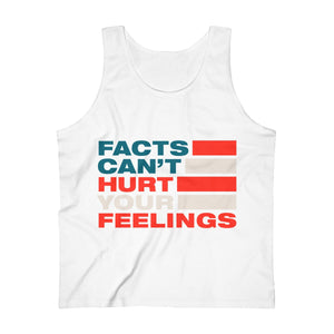 Men's Ultra Cotton Tank Top - Facts Cant Hurt Your Feelings