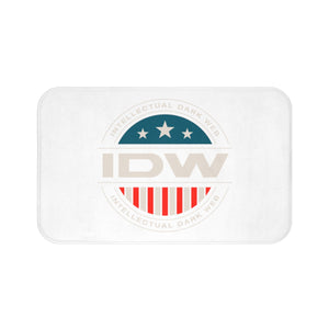 Bath Mat - IDW Badge - Color - White Border