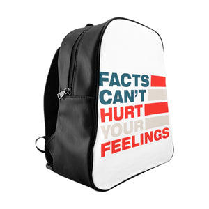 School Backpack - Facts Cant Hurt Your Feelings