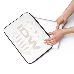 Laptop Sleeve - IDW Badge - Grey