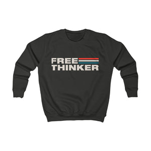 Kids Sweatshirt - Free Thinker