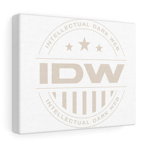 Canvas Gallery Wraps - IDW Badge - Grey