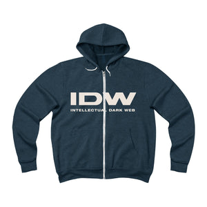 Unisex Sponge Fleece Full-Zip Hoodie - IDW Spelled Out