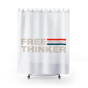 Shower Curtains - Free Thinker