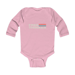 Infant Long Sleeve Bodysuit - Free Thinker