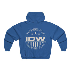 Men's NUBLEND® Hooded Sweatshirt - IDW Badge - Grey