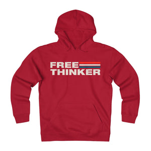 Unisex Heavyweight Fleece Hoodie - Free Thinker