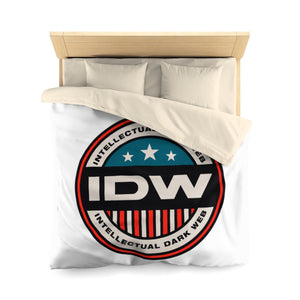 Microfiber Duvet Cover - IDW Badge - Color - Red Border