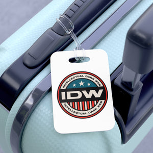 Bag Tag - IDW Badge - Color - Red Border