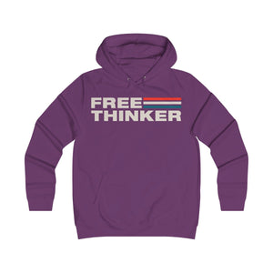 Girlie College Hoodie - Free Thinker