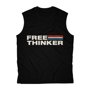 Men's Sleeveless Performance Tee - Free Thinker