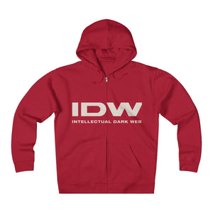 Unisex Heavyweight Fleece Zip Hoodie - IDW Spelled Out