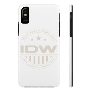 Case Mate Tough Phone Cases - IDW Badge - Grey