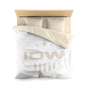 Microfiber Duvet Cover - IDW Badge - Grey