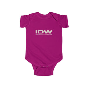 Infant Fine Jersey Bodysuit - IDW Spelled Out