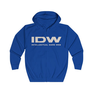 Unisex Full Zip Hoodie - IDW Spelled Out