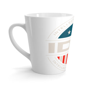 Latte mug - IDW Badge - Color - White Border