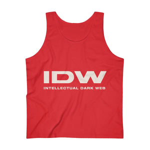 Men's Ultra Cotton Tank Top - IDW Spelled Out