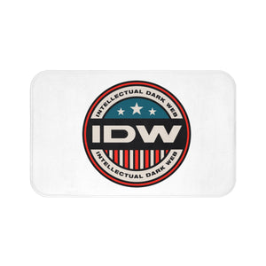 Bath Mat - IDW Badge - Color - Red Border