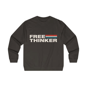 Men's Midweight Crewneck Sweatshirt - Free Thinker