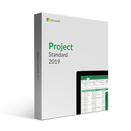 Genuine MS Project 2019 Standard (for Windows 10 only) (Lifetime Key for 1 or 5 PC)