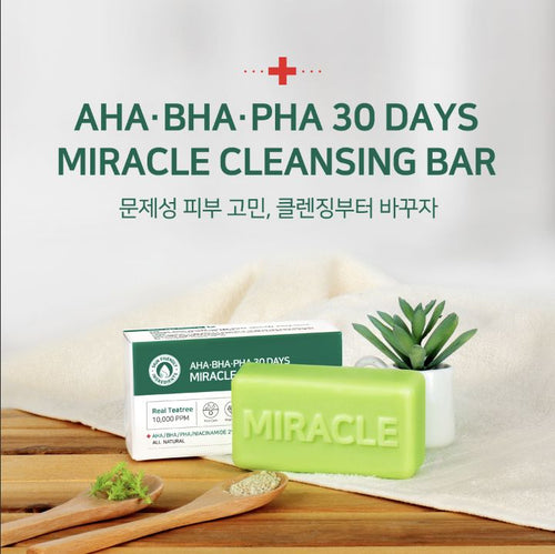 Miracle Cleansing Bar by Some By Mi