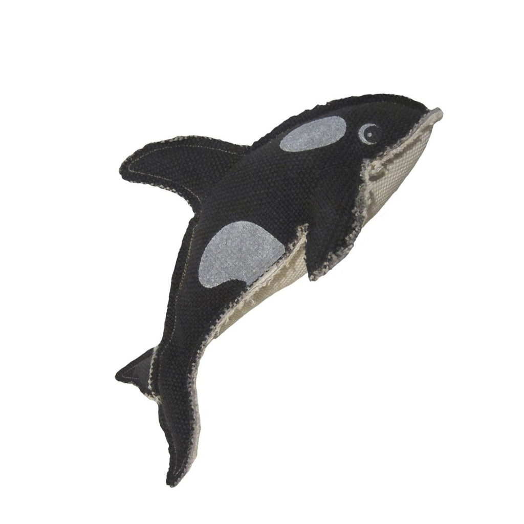 Happy Tails Critterz Killer Whale Pet Toy