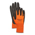 Bellingham High Visibility Fleece-Lined Nitrile Palm Gloves, Small
