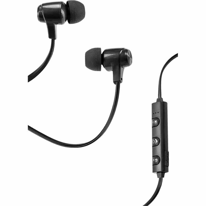 Vivitar Bluetooth Wireless Earphones, Black