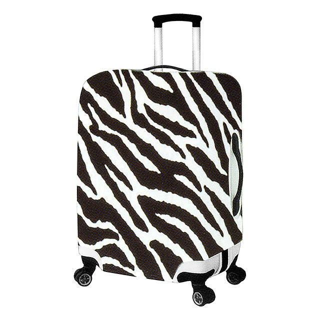 "EZ-ID Zebra Stripe 20"" Luggage Cover"