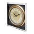 "Empire 16"" Analog Wall Clock, Decorative Brushed Gold"