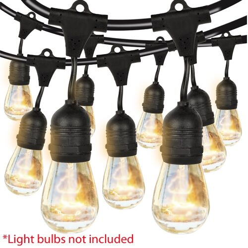 48 Inch Outdoor Weatherproof String Lights Cable