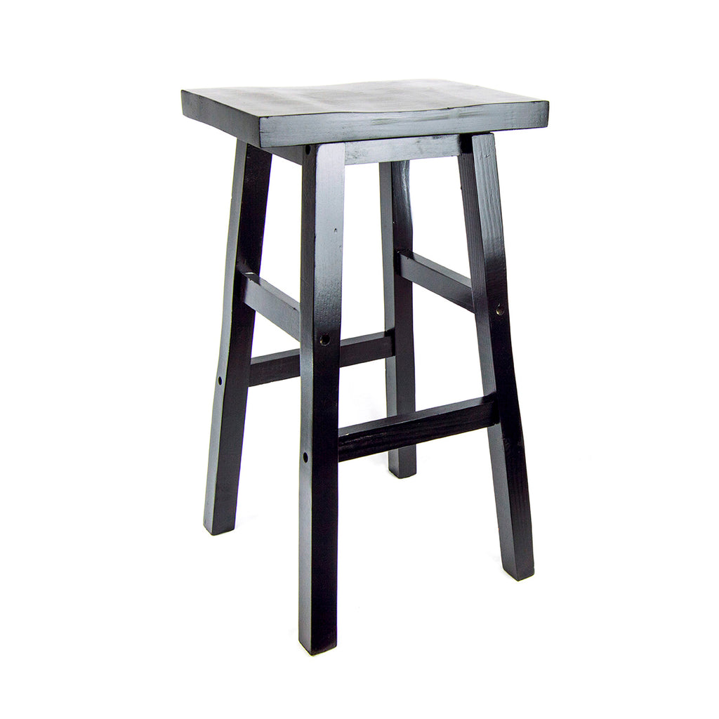 26 inch Solid Wood Shinto Stool