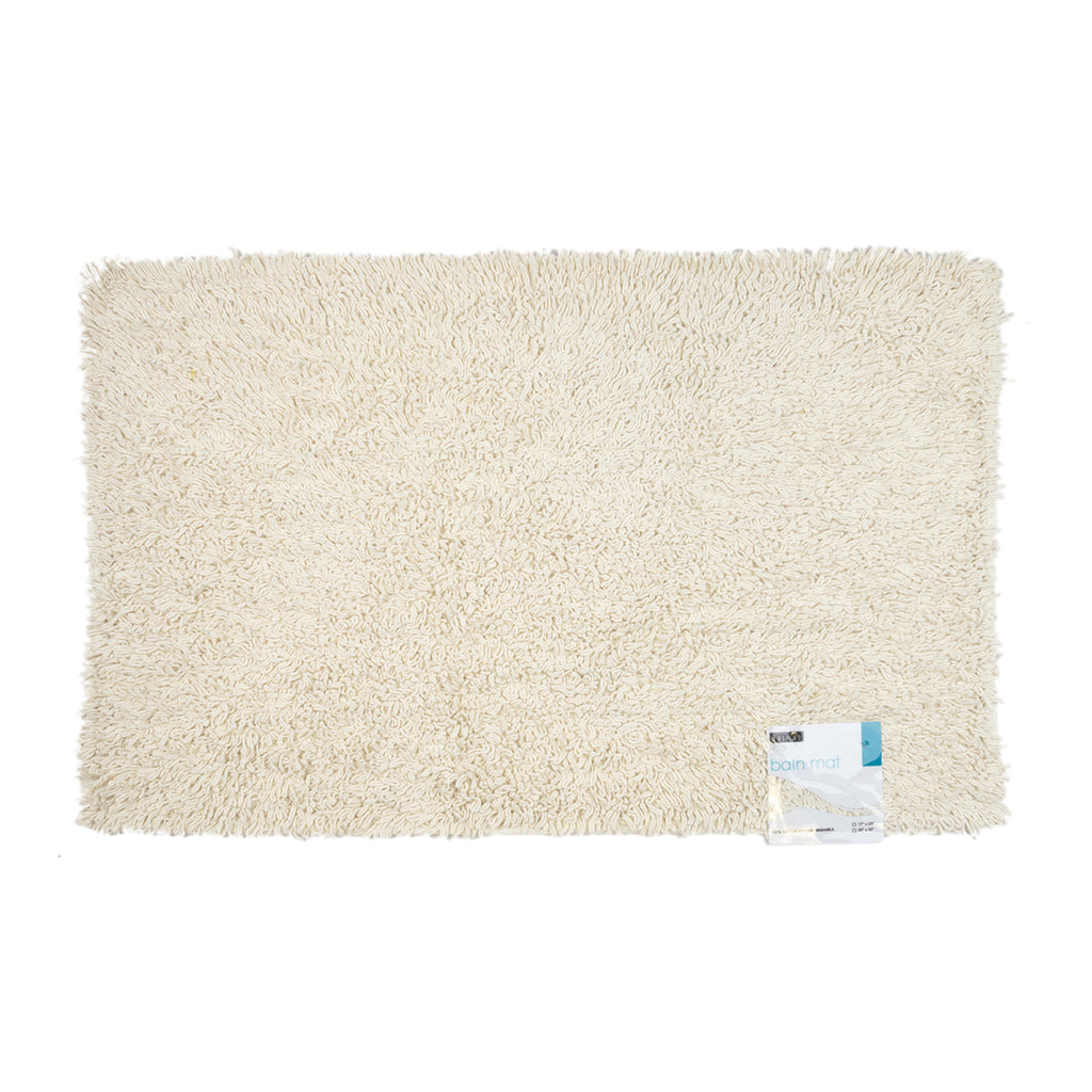 Harman Twist Bath Mat, White