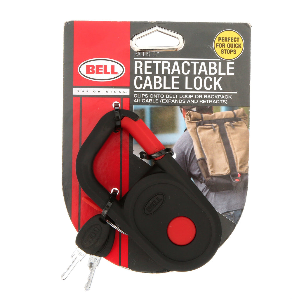 Bell Retractable 4ft Cable Bike Lock